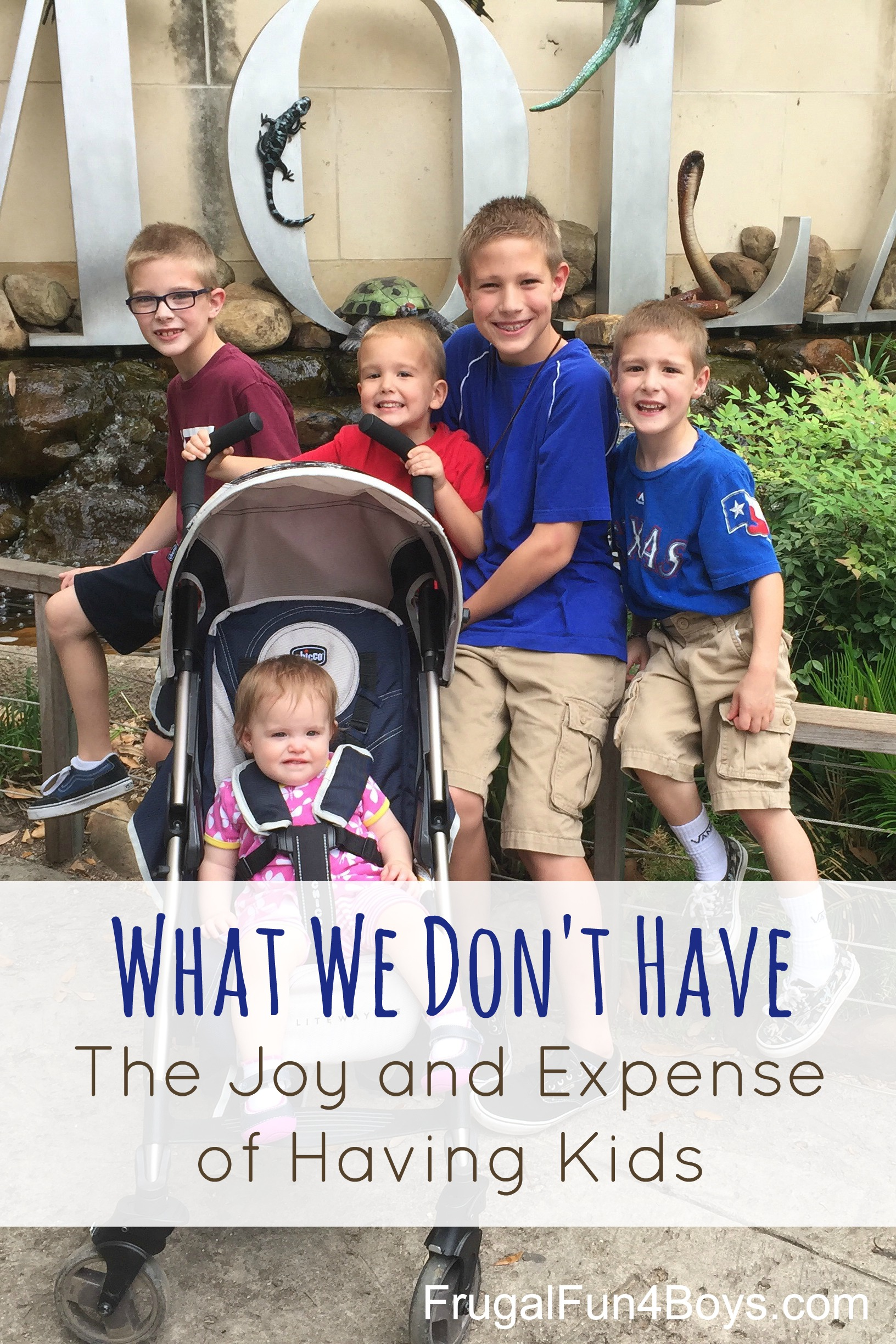 What We Don't Have: The Joy and Expense of Having Kids