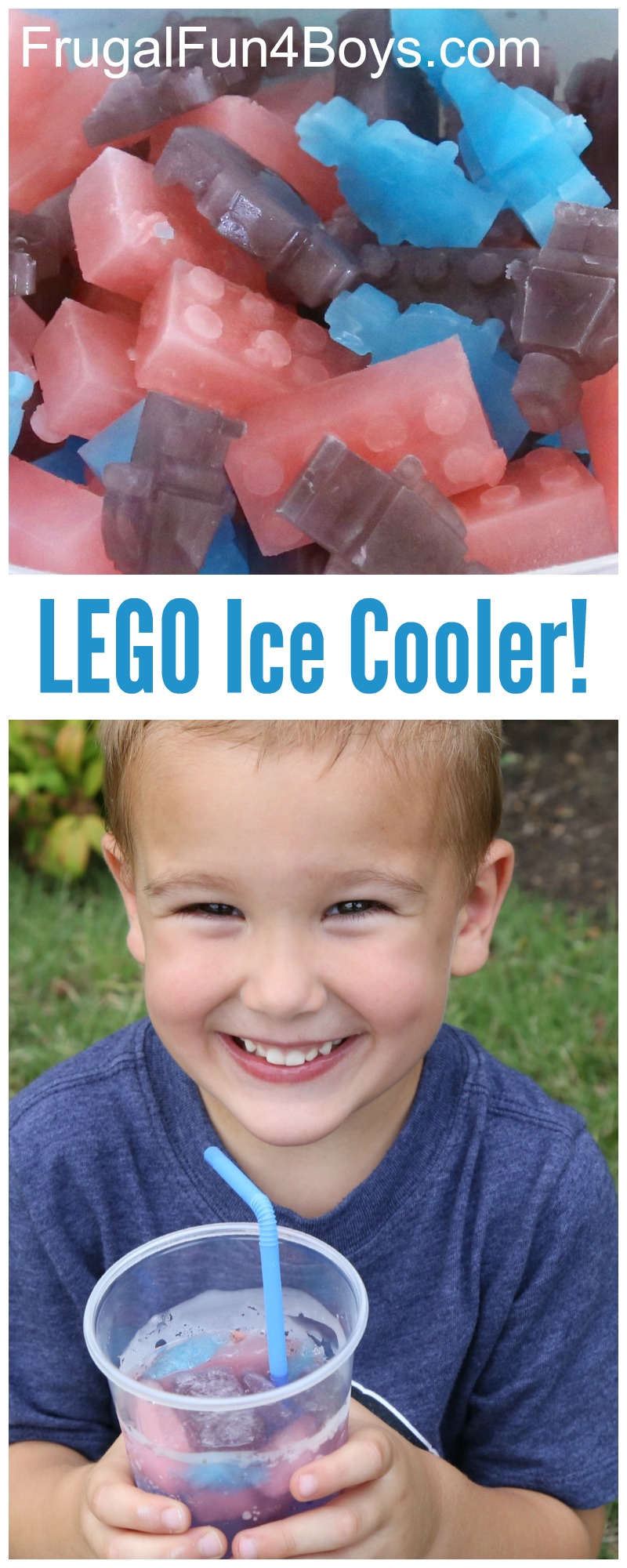 LEGO Party Drink for Kids - LEGO Ice Cooler!