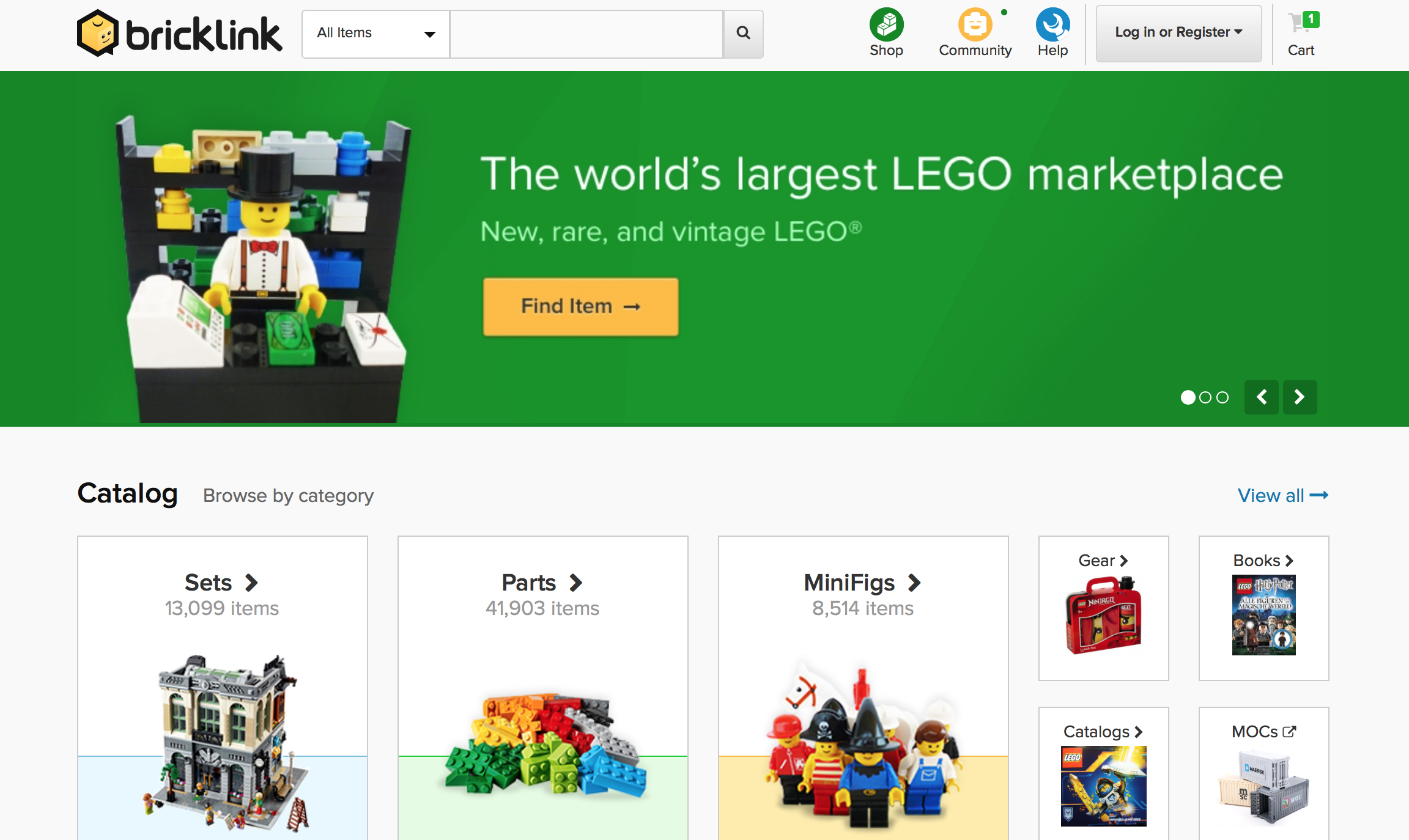 How to Shop for Individual LEGO Bricks on Brick Link