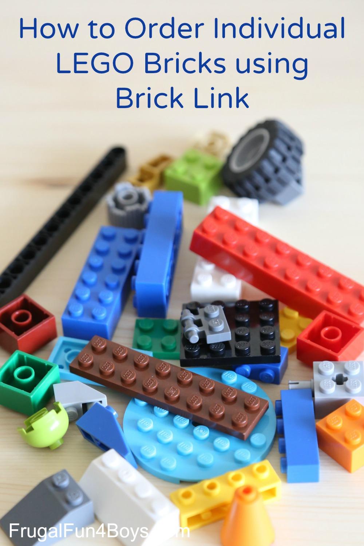 How to Order Individual LEGO Bricks on Brick Link