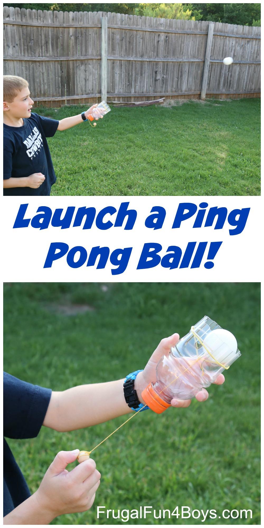 DIY Ping Pong Ball Shooter