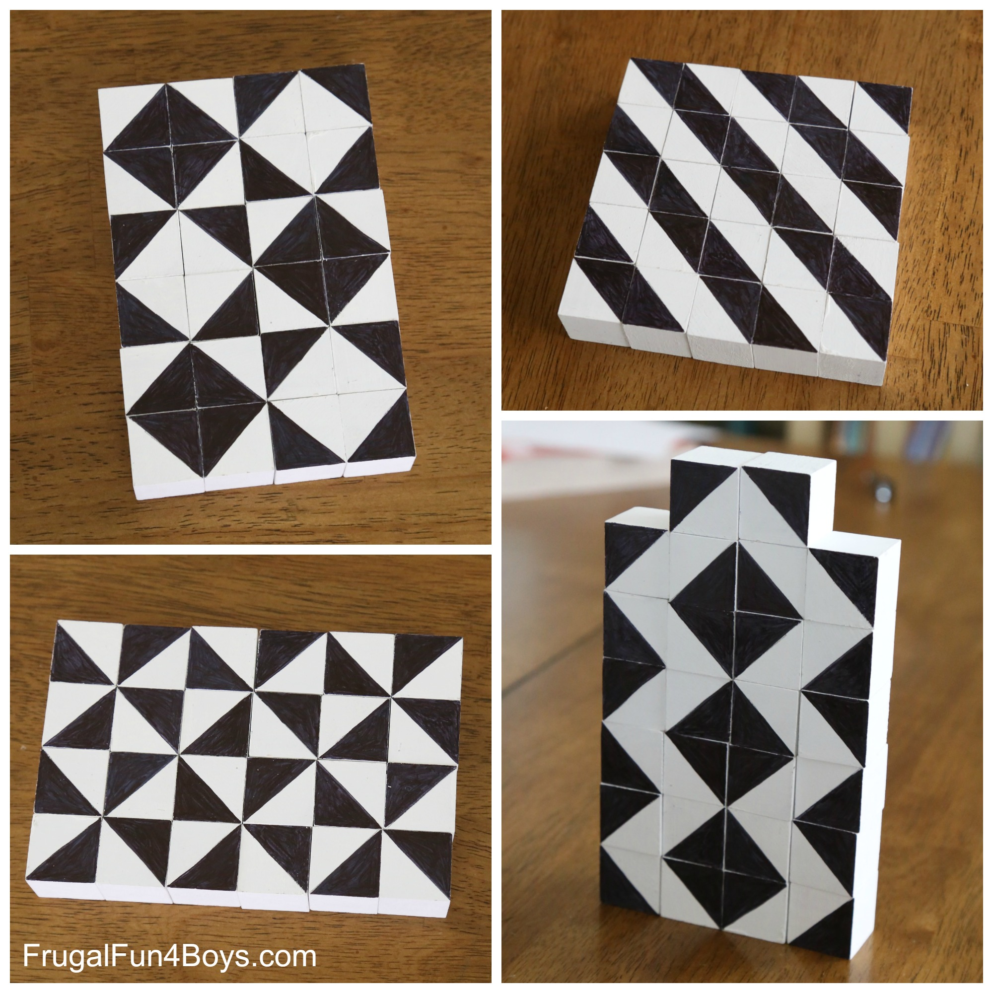 Two-in-One DIY Pattern Blocks
