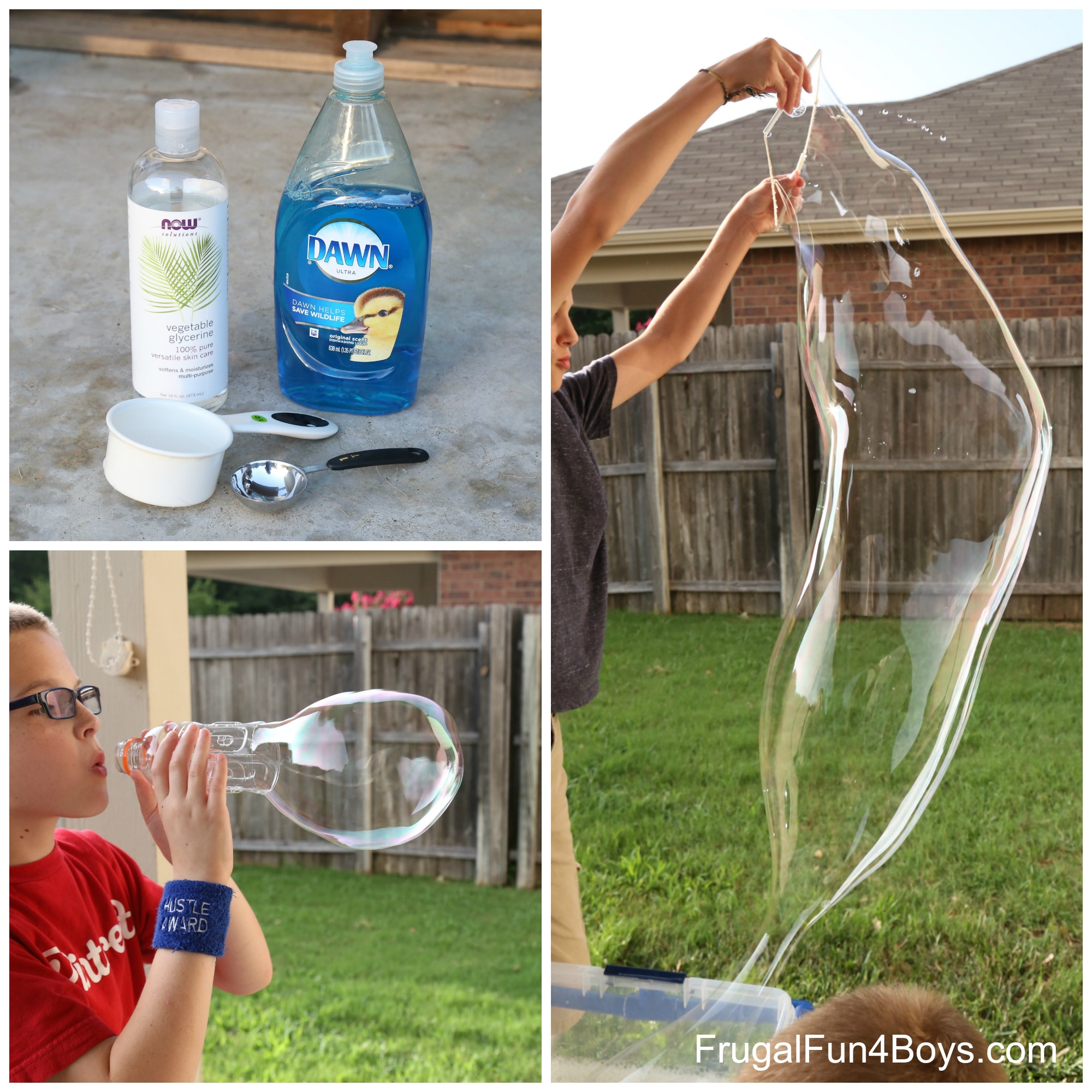Giant Bubble Solution Recipe