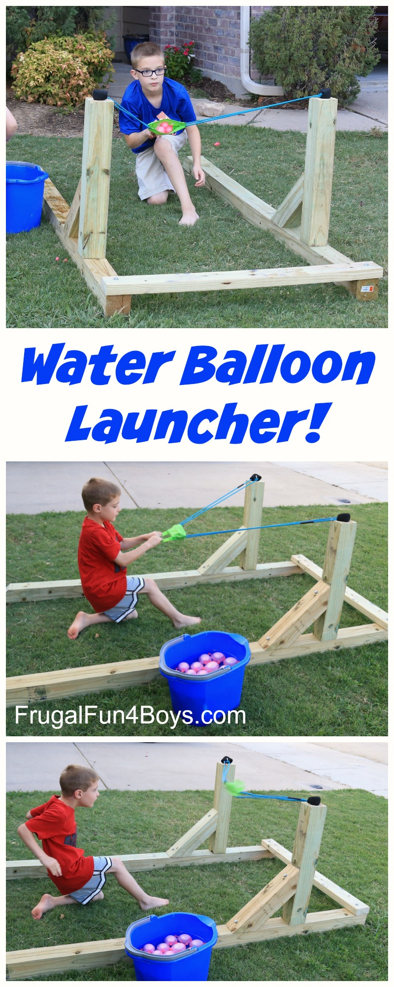 How to build an awesome water balloon launcher that the whole family will love!