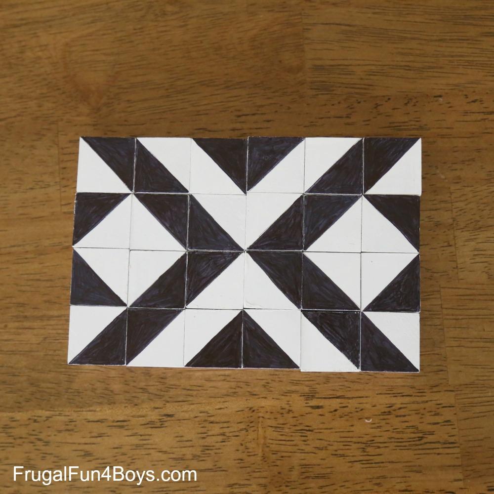 DIY Two-in-One Pattern Blocks