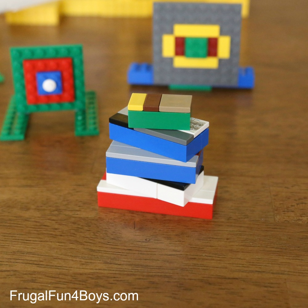 LEGO Nerf Targets to Build