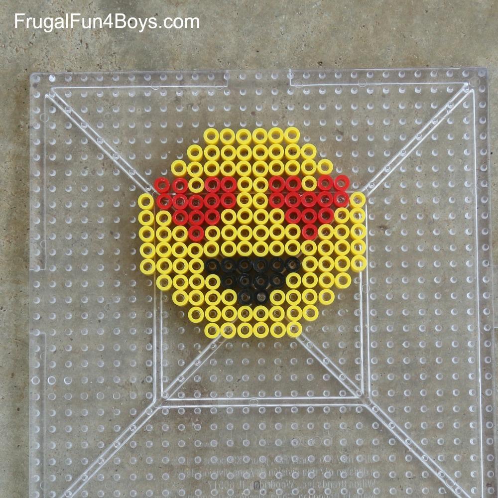 Emoji Perler Bead Keychains Frugal Fun For Boys And Girls