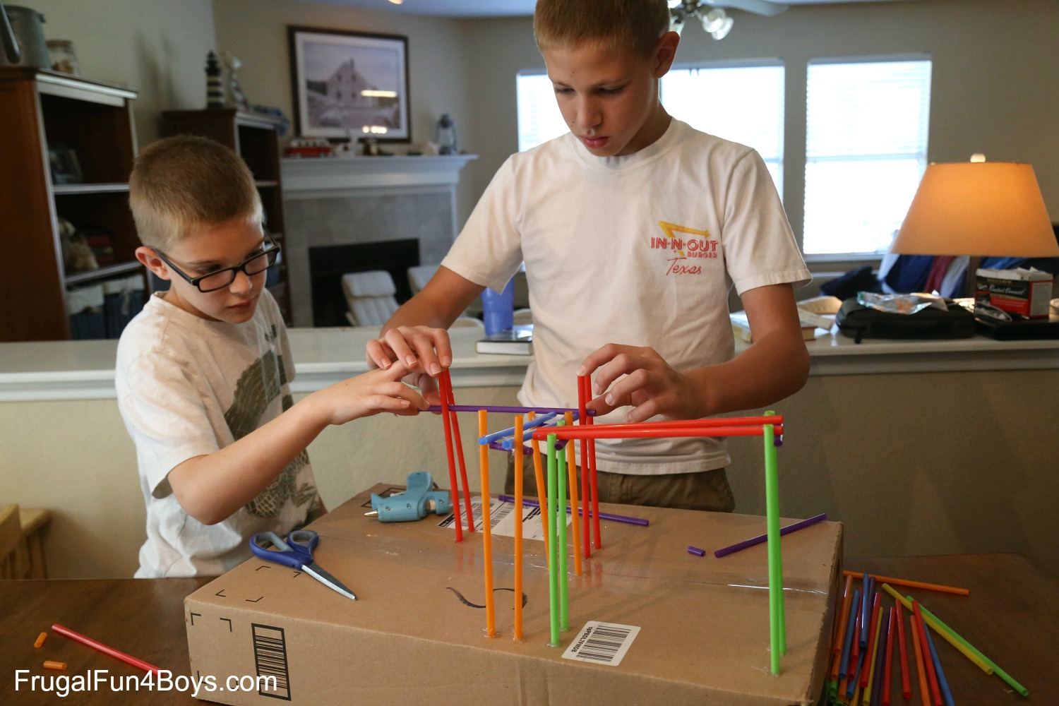kid made coasters engineering project for build a straw roller coaster 2273