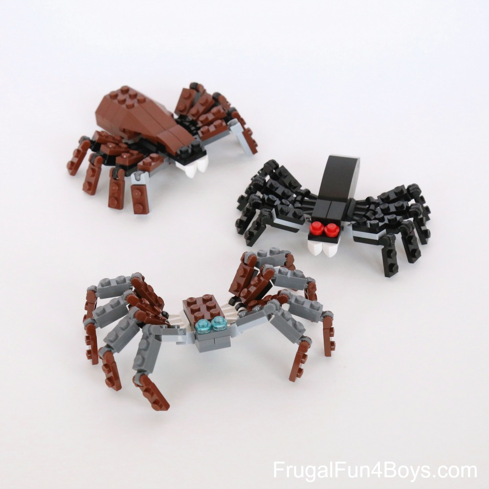 Lego Spiders Building Instructions Frugal Fun For Boys And Girls