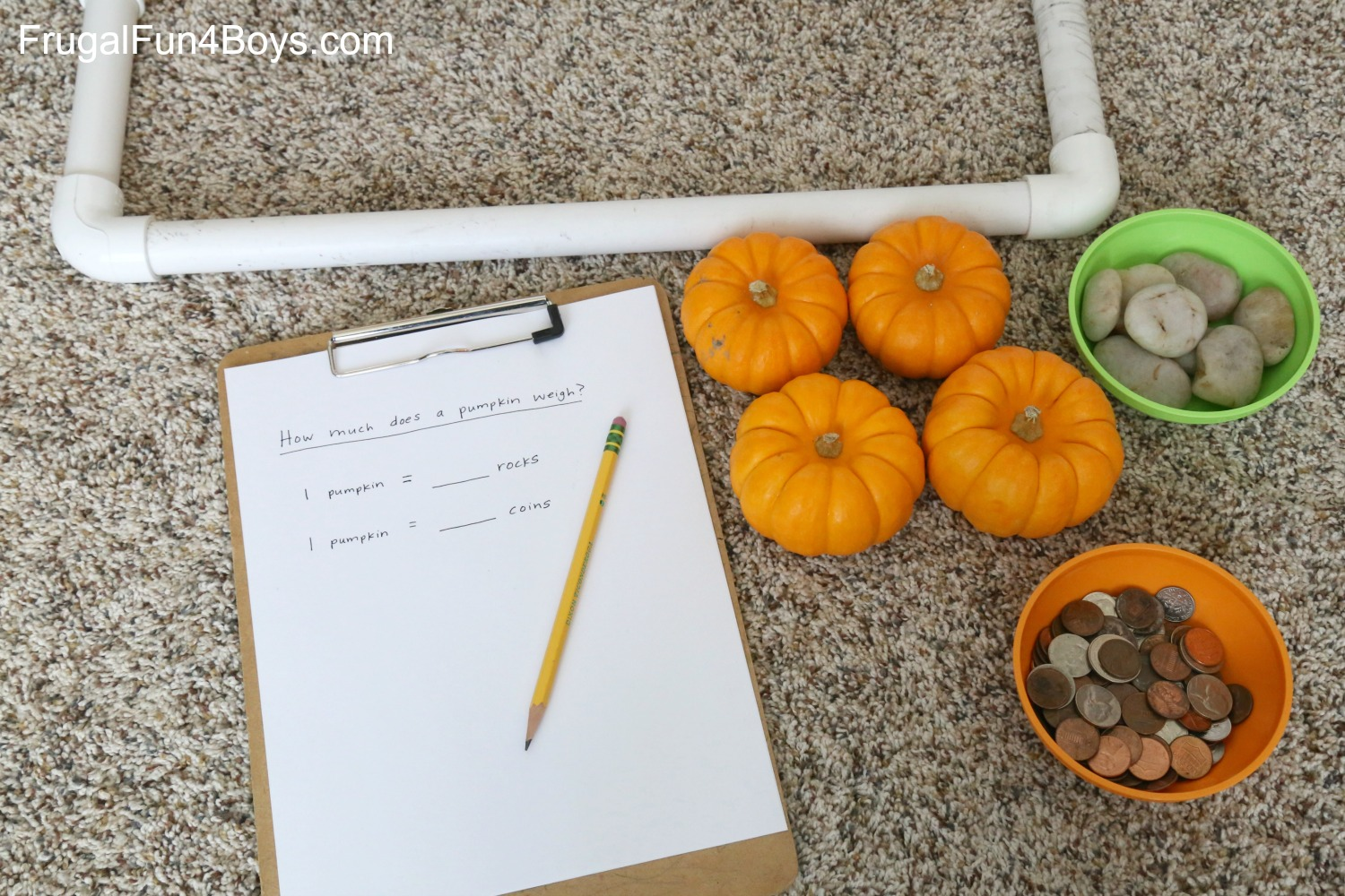 Fall Math: How Heavy is a Pumpkin?
