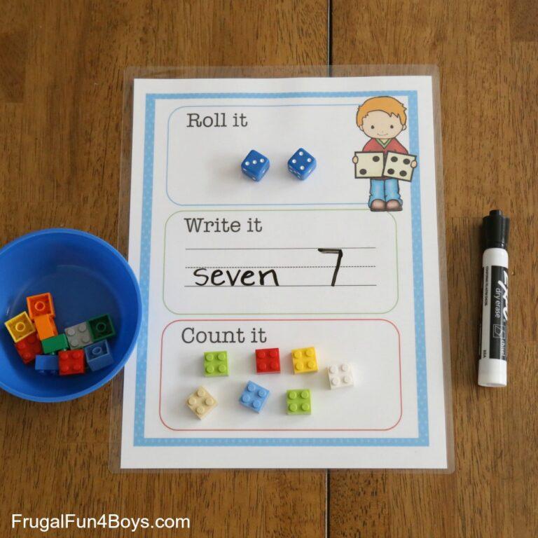Kindergarten and Preschool Math Hands-on Activities