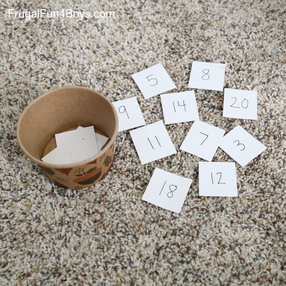 Pumpkin Patch Counting Game