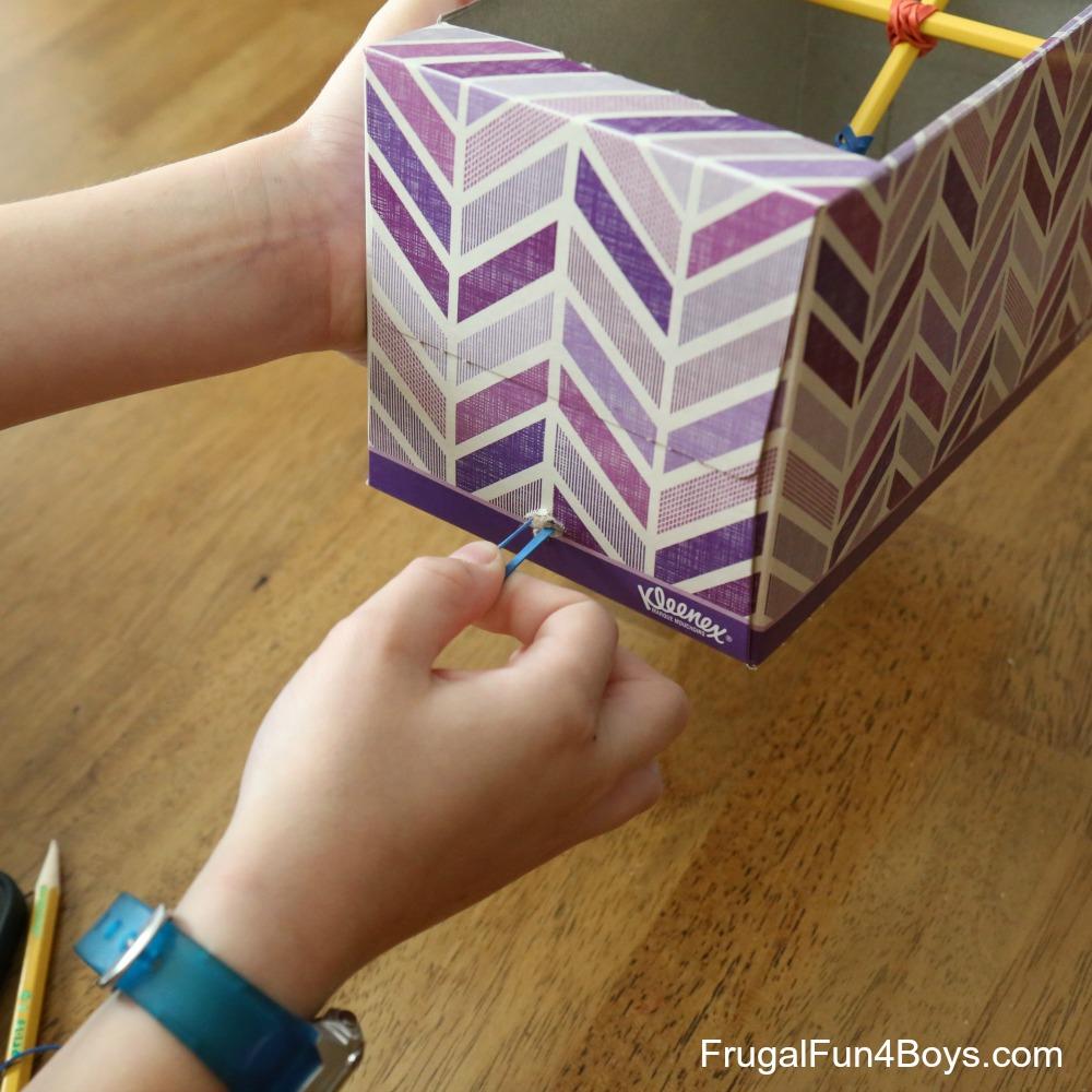 Tissue Box Catapult