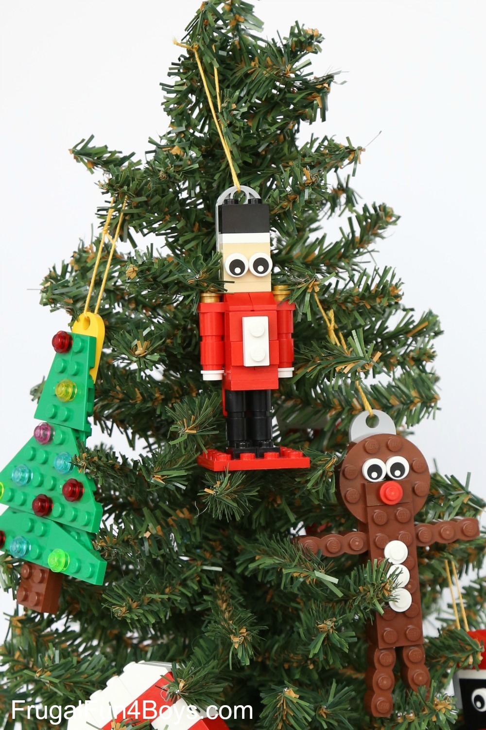 How To Build A Lego Nutcracker Christmas Ornament Frugal Fun For