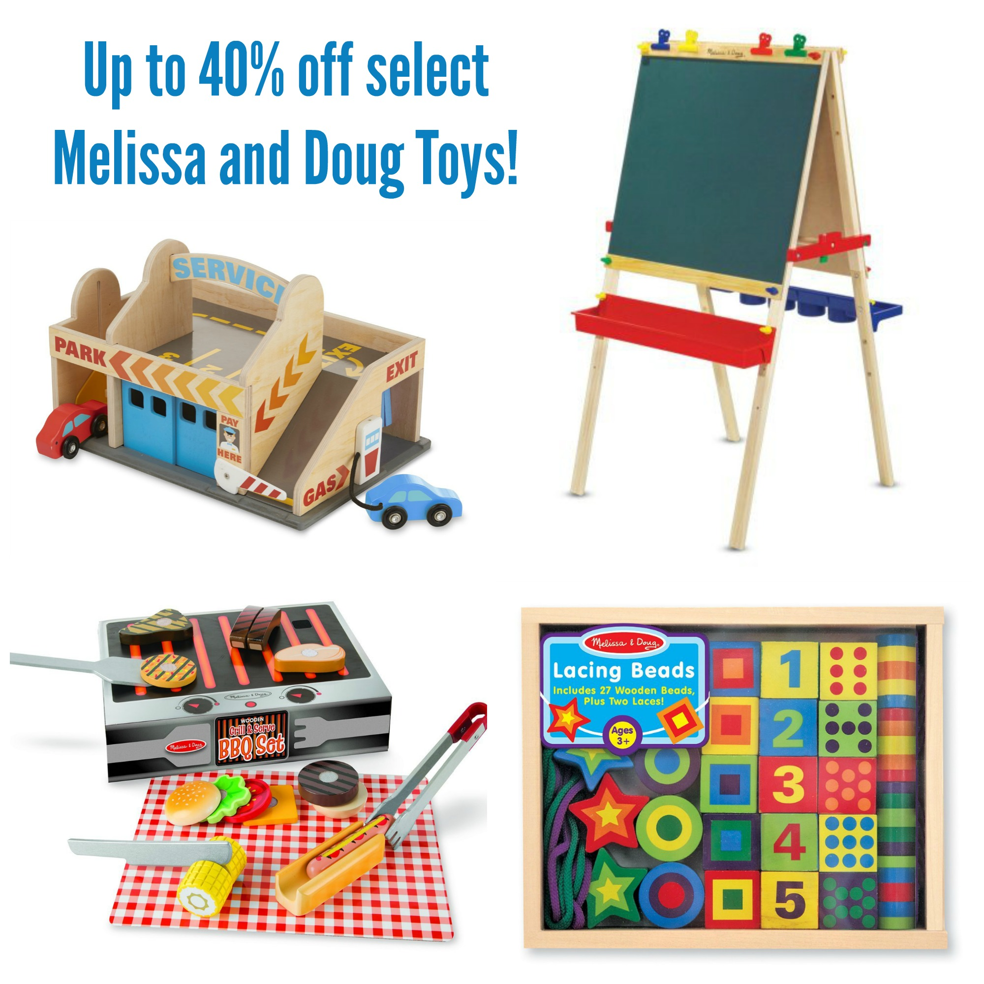 Up to 40% off Melissa and Doug Toys