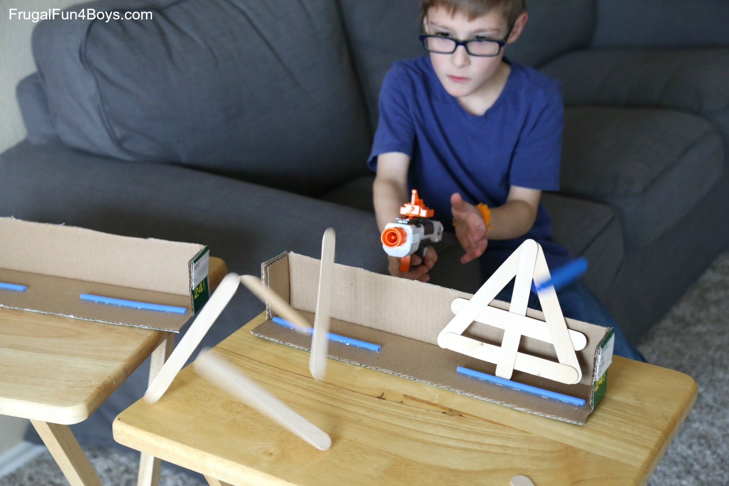 Super Awesome Nerf Games to Make