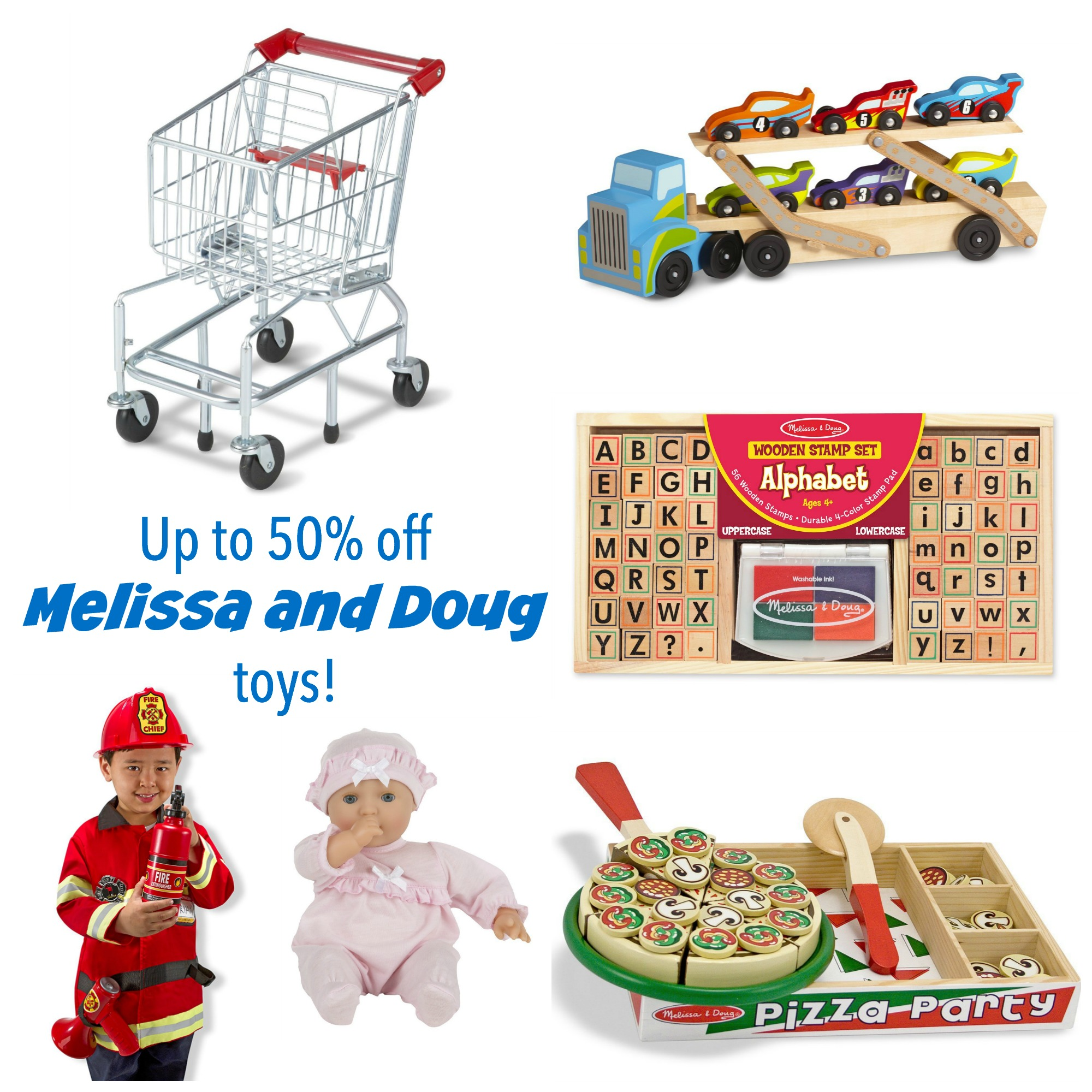 Up to 50% Off Melissa and Doug Toys!