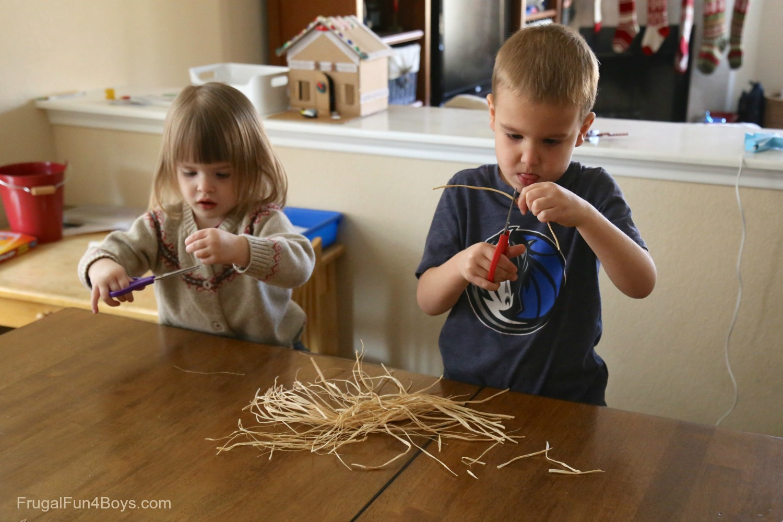 Manger Craft for Preschoolers