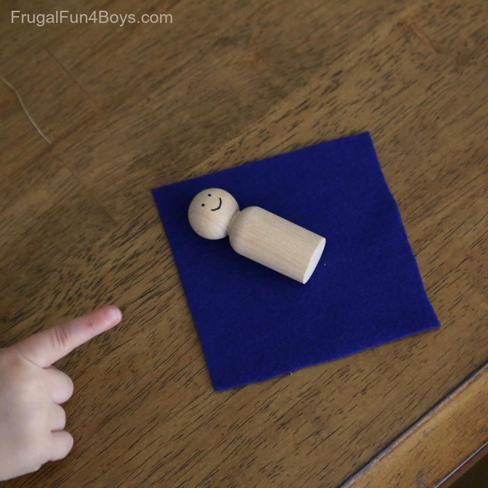 Manger Christmas Craft for Preschoolers