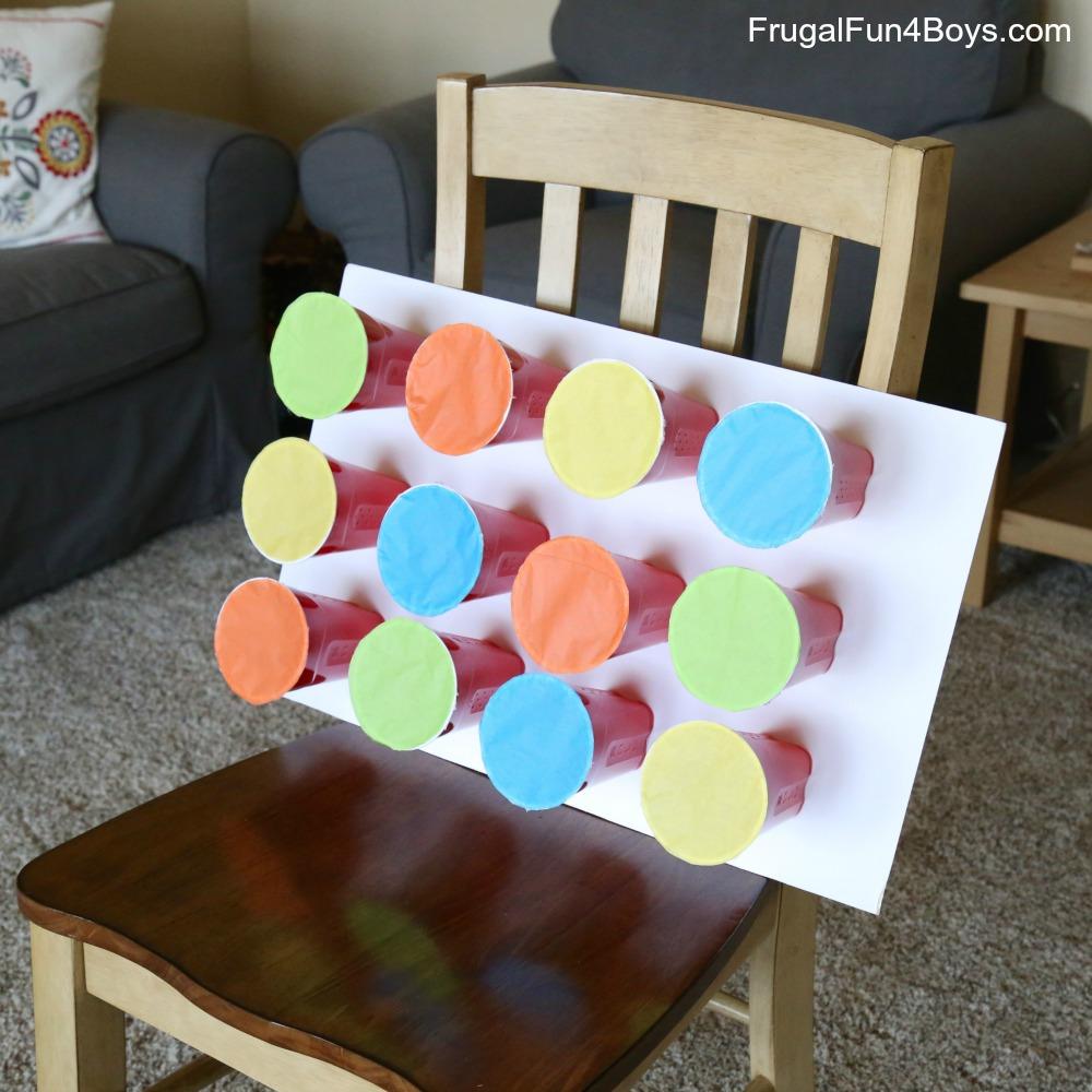 Nerf Target Prize Game