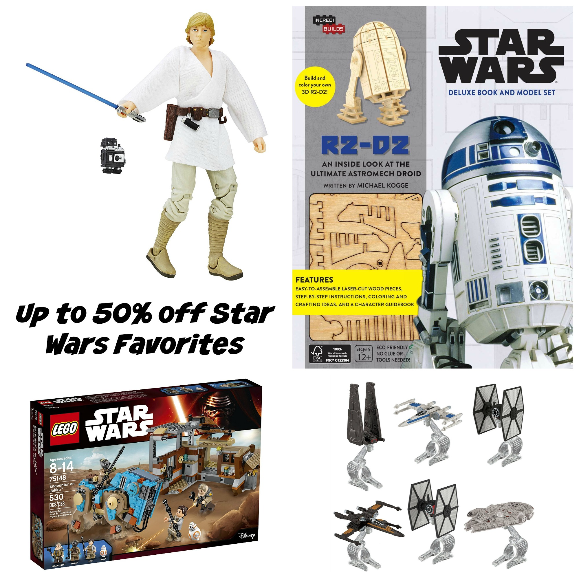 Up to 50% off Green Toys and Star Wars Favorites - Amazon Deal of the Day