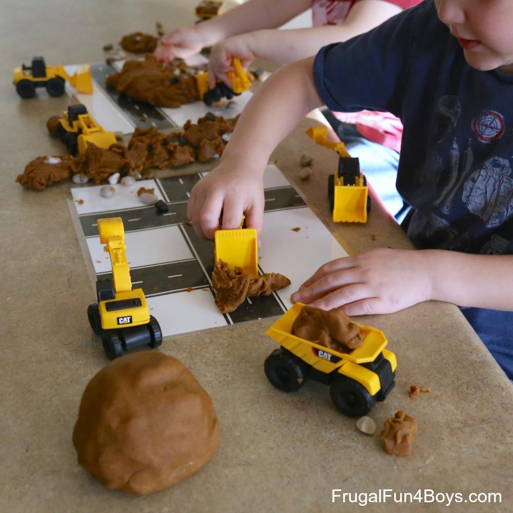 How to Make Dirt Play Dough