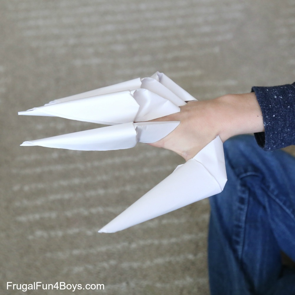 How To Fold Paper Claws