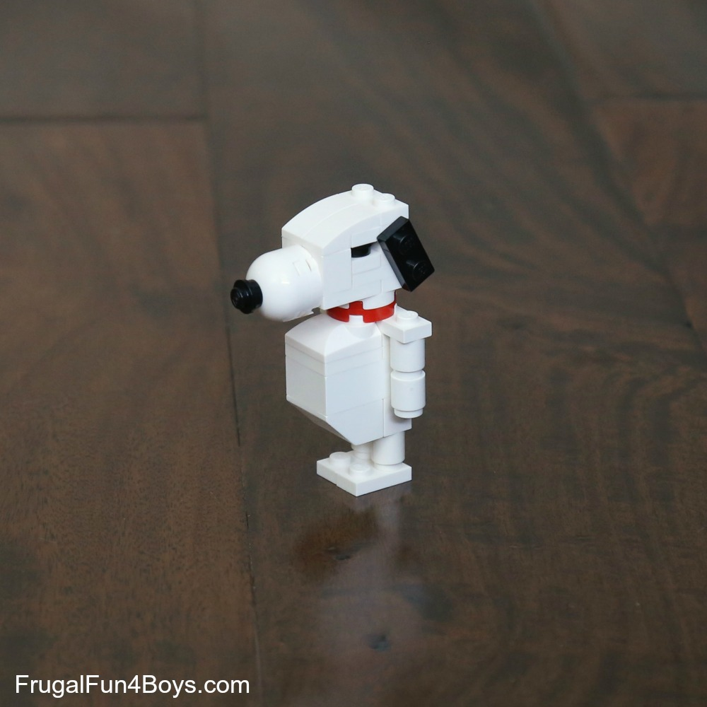 LEGO Snoopy Building Instructions