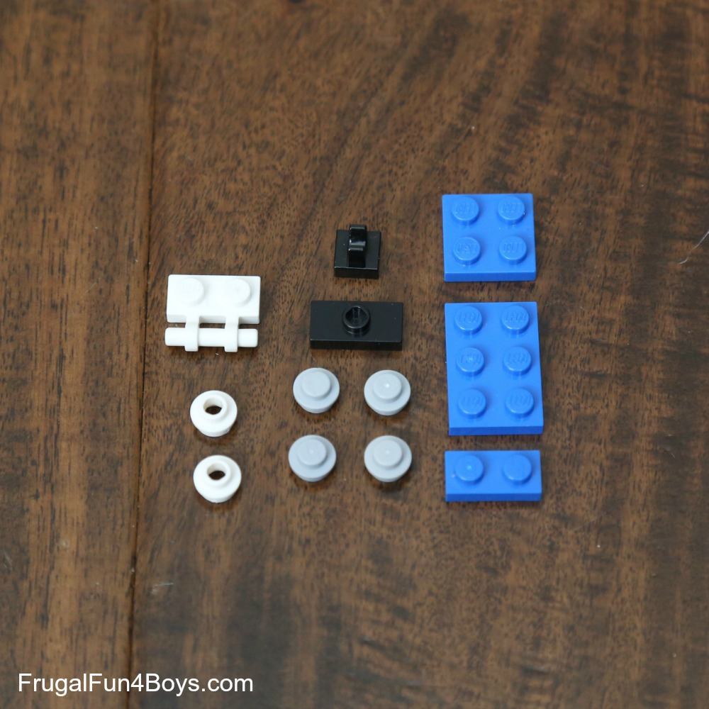 LEGO Snoopy Instructions