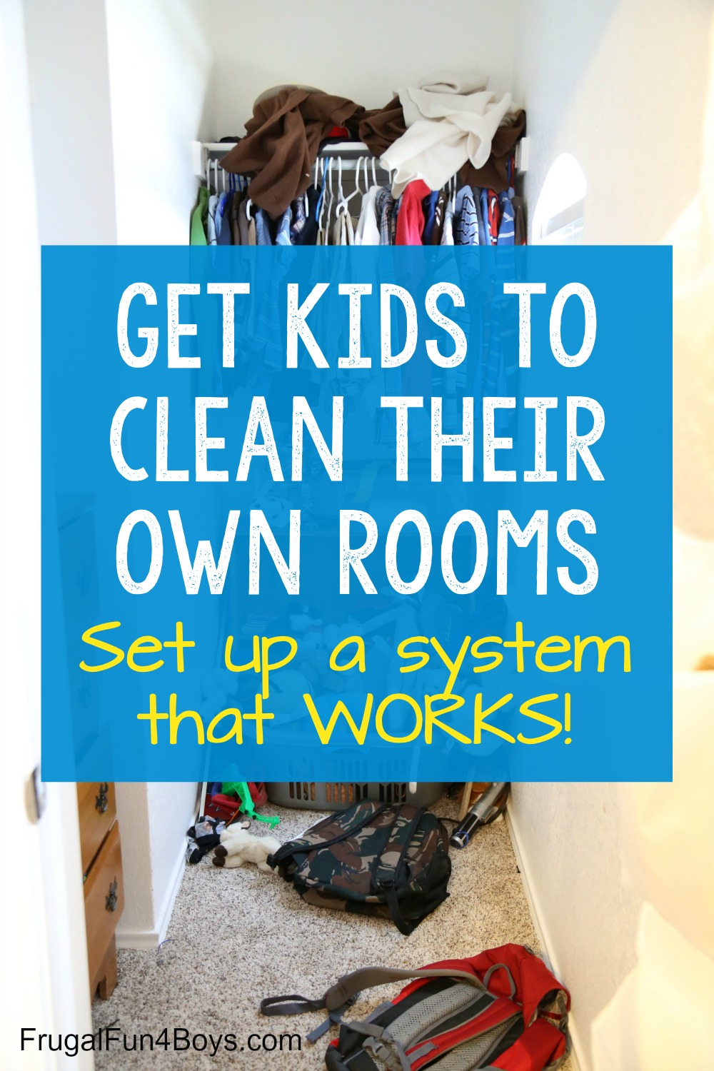 How to Get Kids to Clean Their Own Rooms