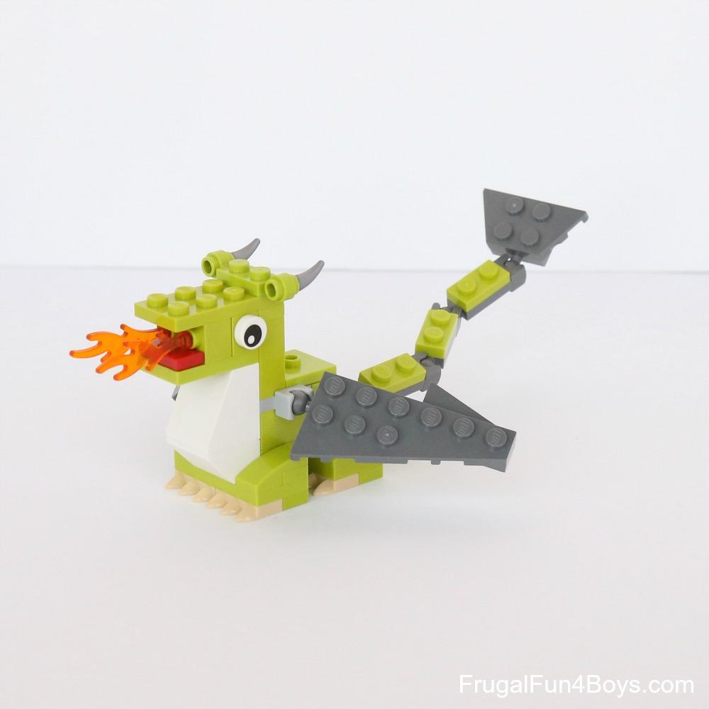 lego mini dragons building instructions