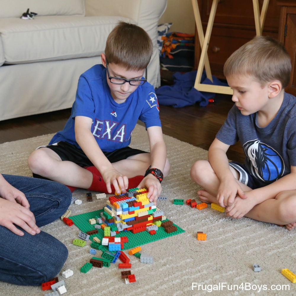 10+ Awesome LEGO Party Games