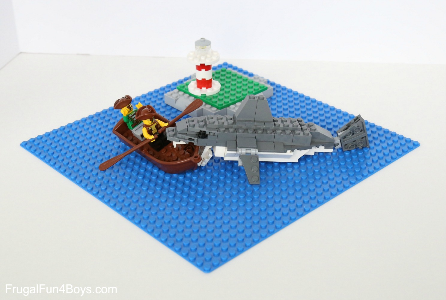 How To Build An Awesome Lego Shark Frugal Fun For Boys And Girls
