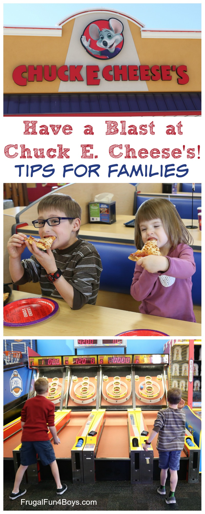 Kids Play Safe at Chuck E. Cheese's!