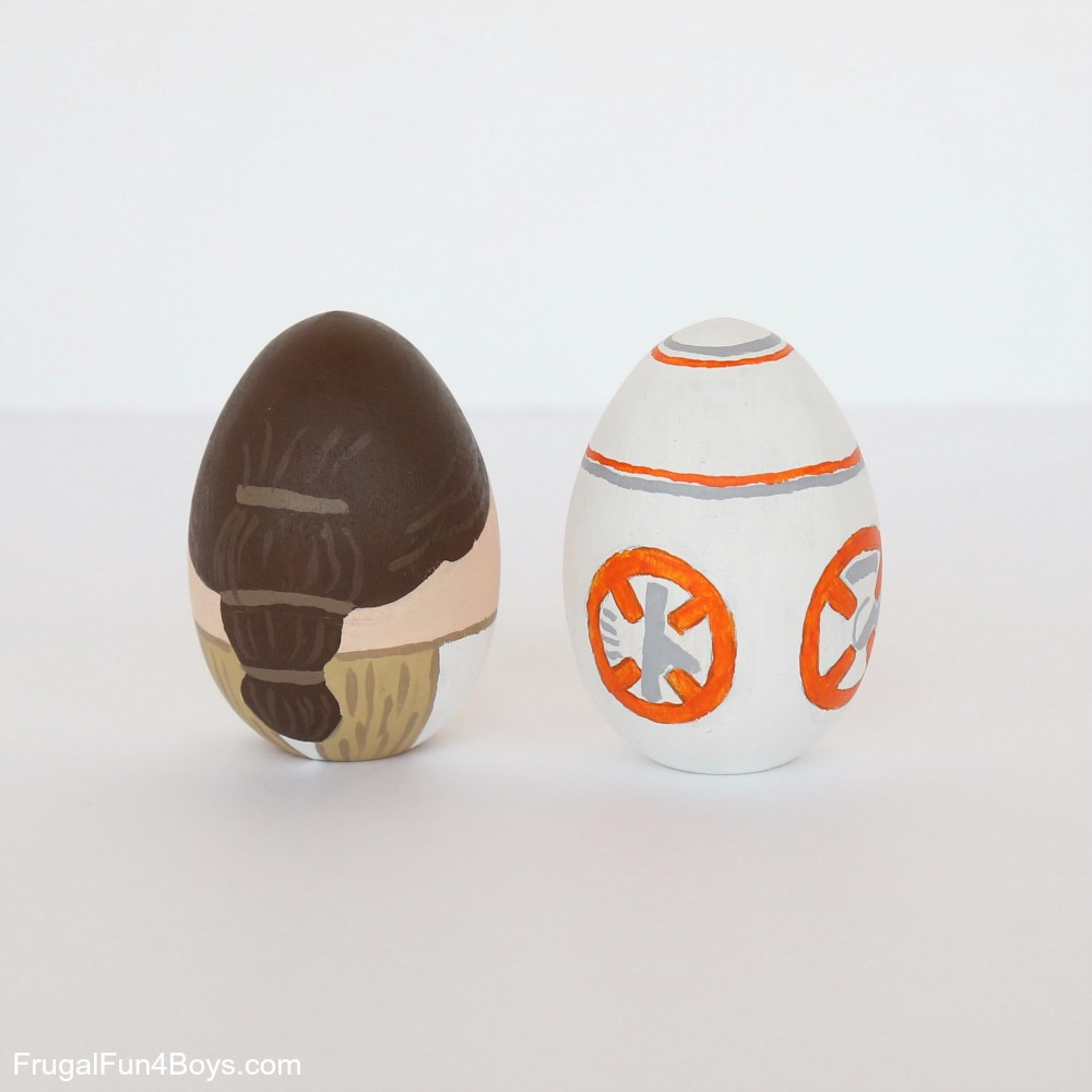 Star Wars Painted Eggs