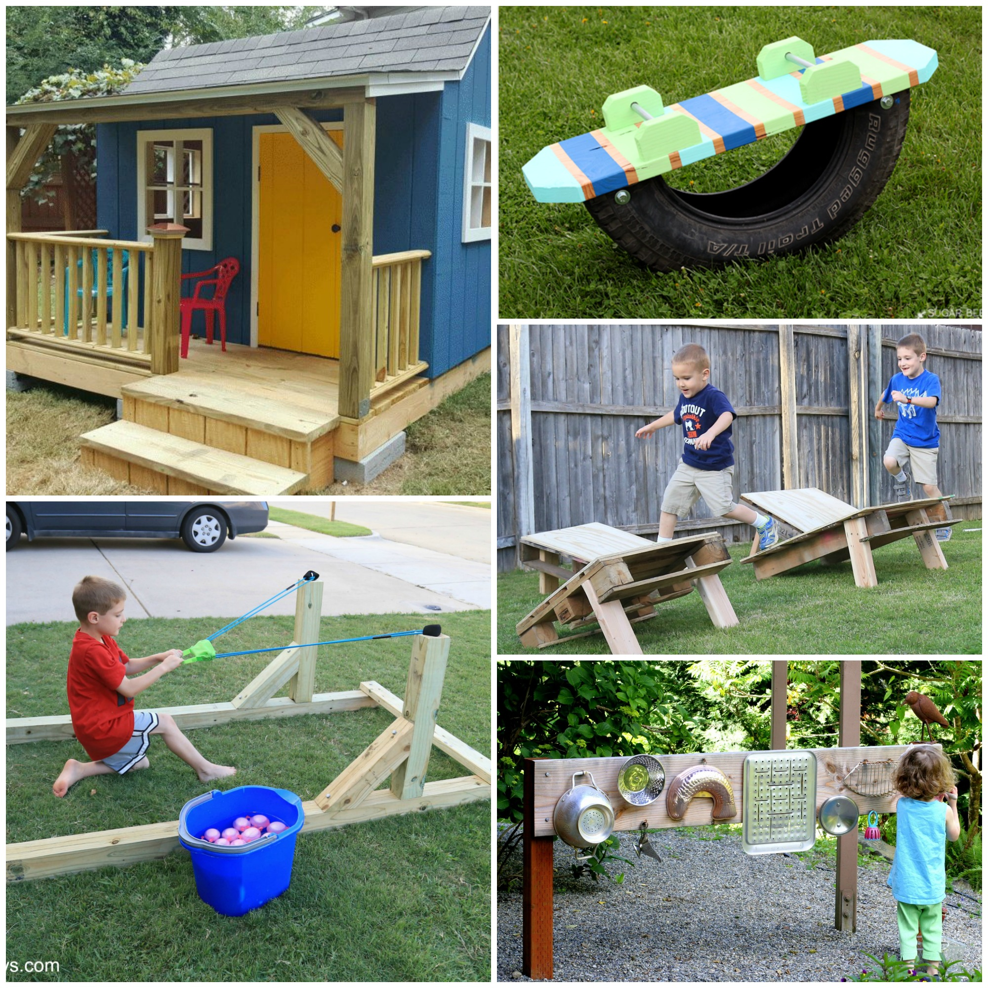 25 Awesome Backyard Play Spaces to Make