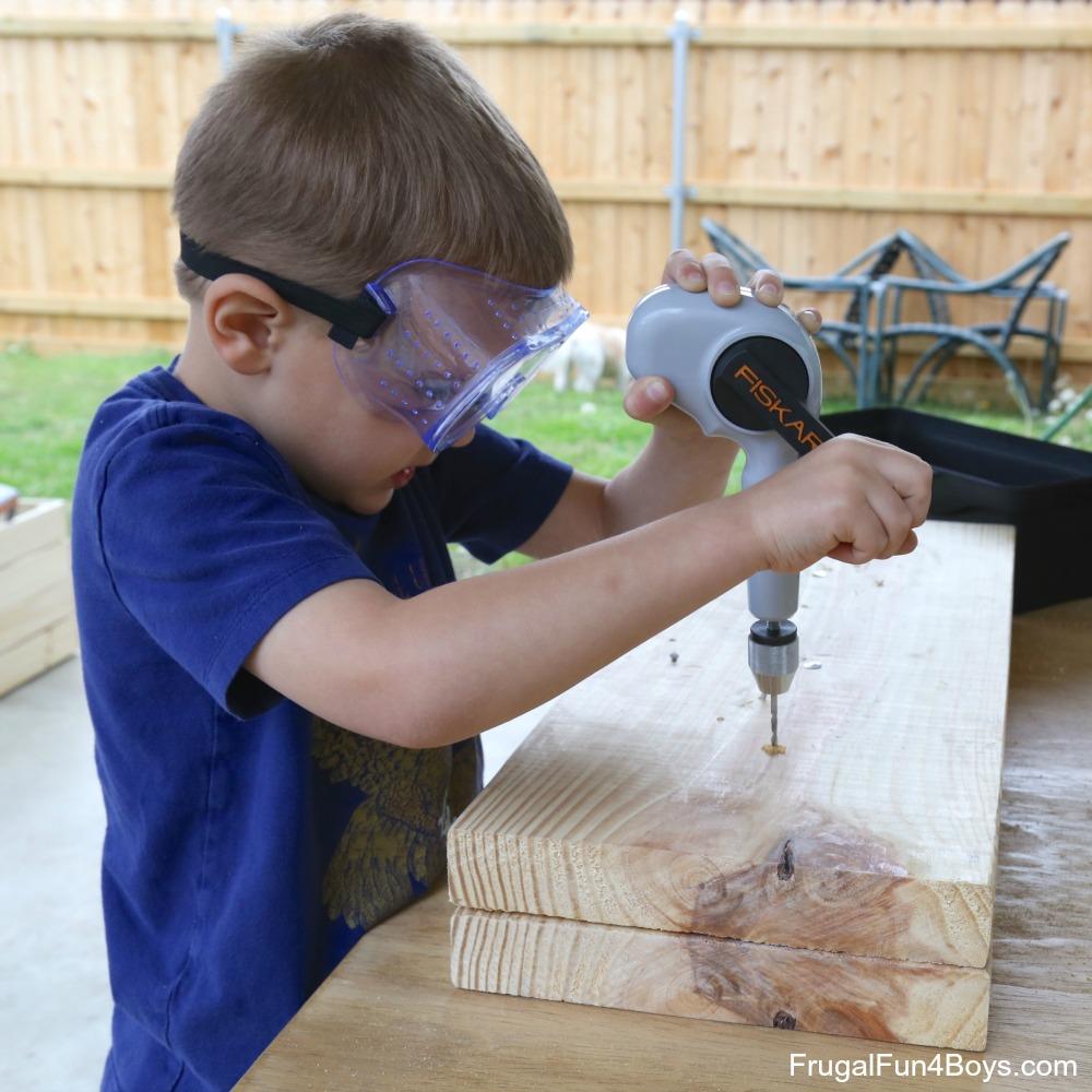 Kids' Workbench Plans