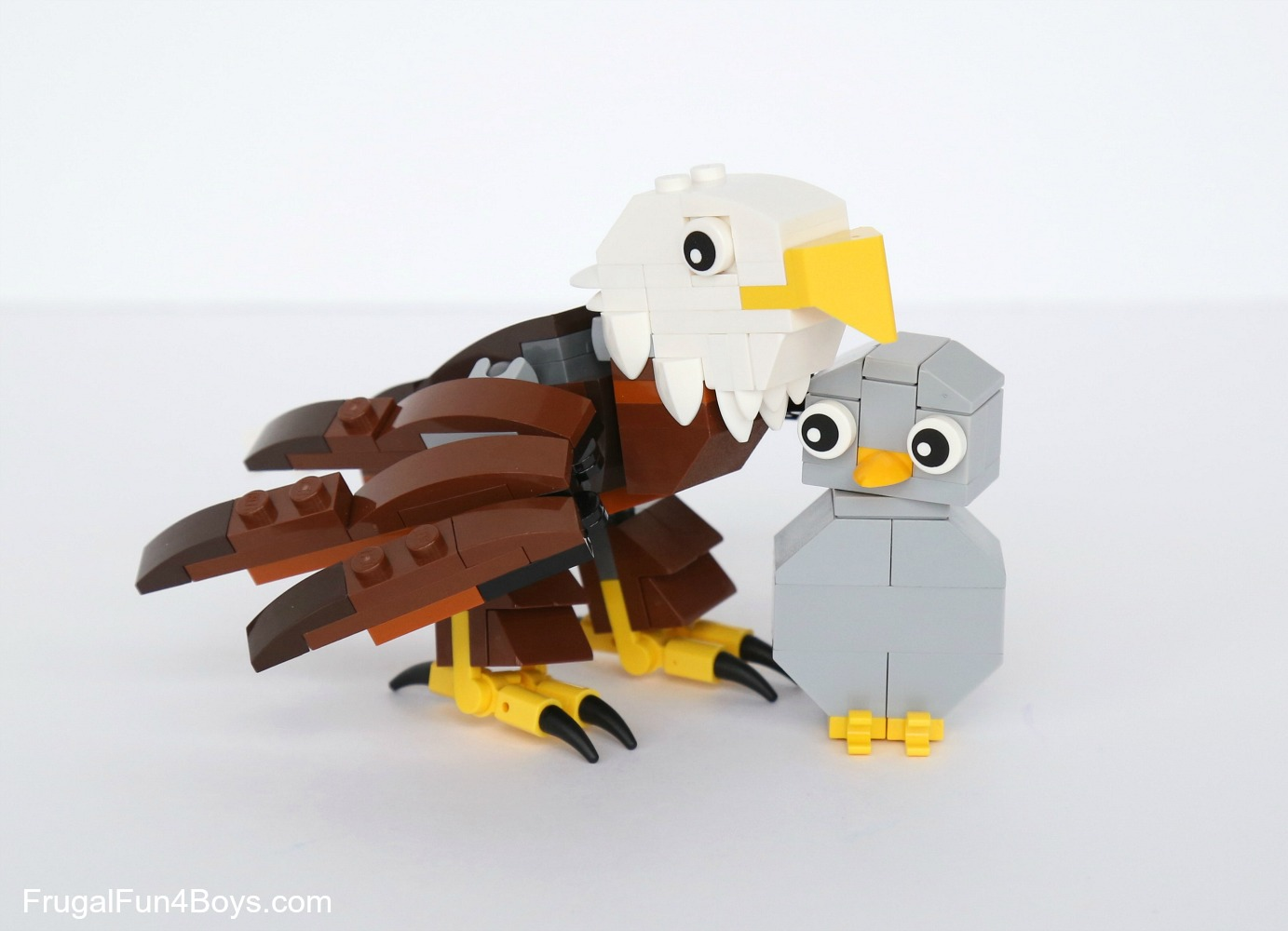How to Build LEGO Eagles