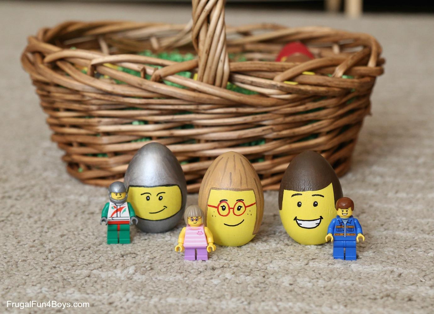 LEGO Minifigure Easter Eggs