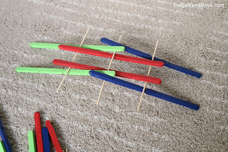 Build a Popsicle Stick Da Vinci Bridge