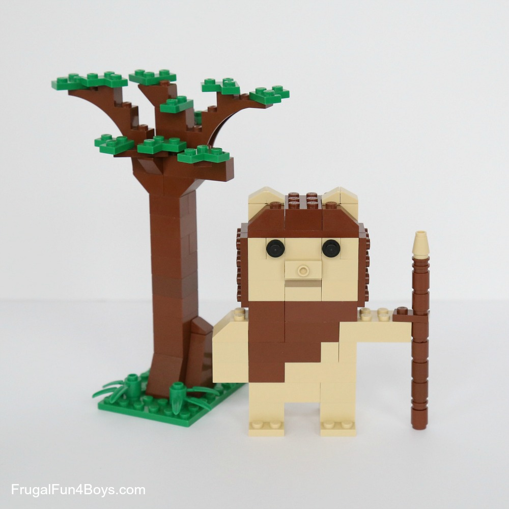 Lego Ewoks Building Instructions Frugal Fun For Boys And Girls
