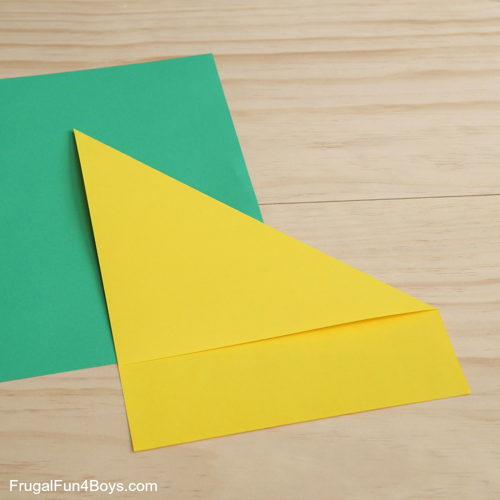 how to make a card with two pieces of paper