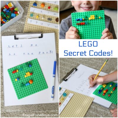 Secret Codes! Write Coded Messages with LEGO Bricks