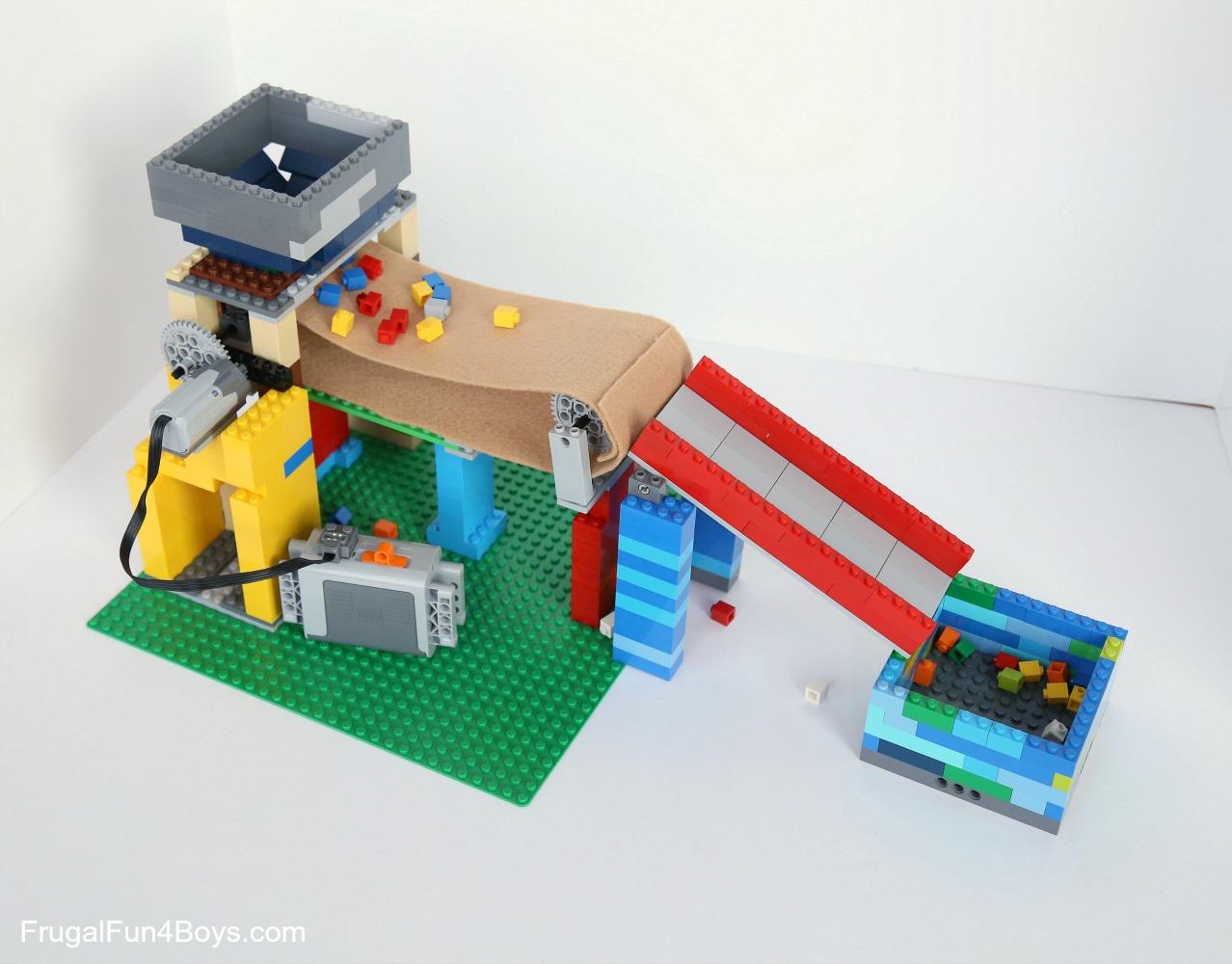 Build A Working Conveyor Belt With Lego Bricks Frugal