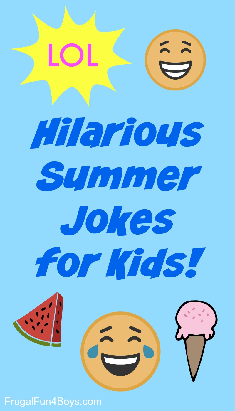 jokes summer funny hilarious clean silly joke kid boys fun fish june leave humor combine elephant frugal frugalfun4boys comment swimming