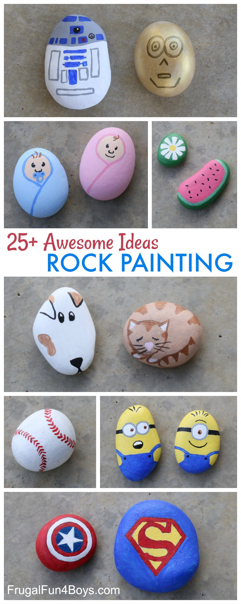 Easy Rock Painting Ideas For Thanksgiving