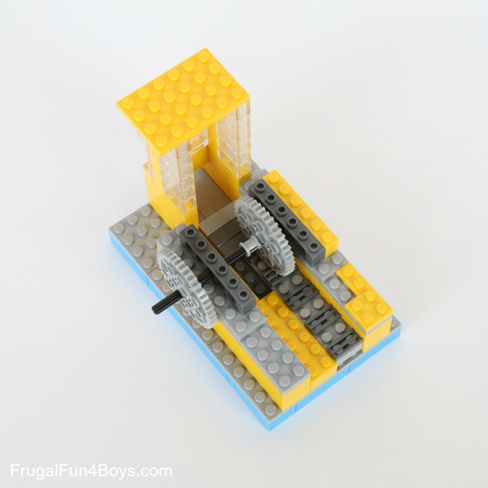 How To Build A Lego Candy Machine Dispense One Candy At A Time
