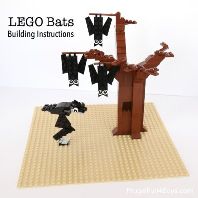 How to Build LEGO® Bats