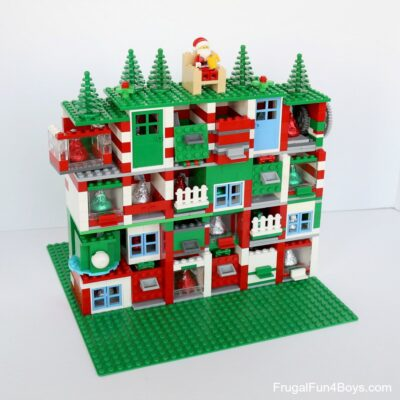 How to Build an Awesome LEGO Advent Calendar (With doors! And candy!)