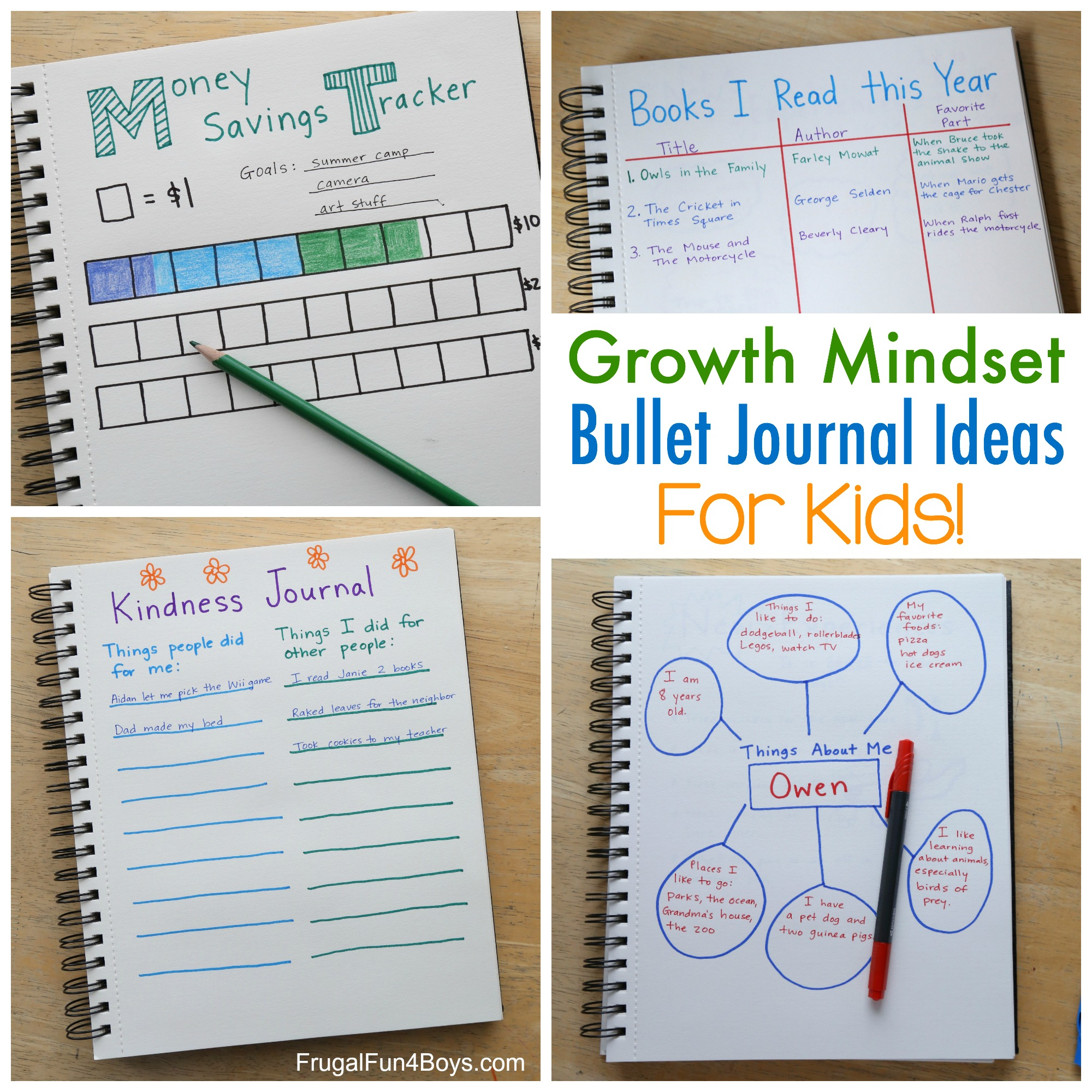 Child's Prayer Journal - Activities for Kids